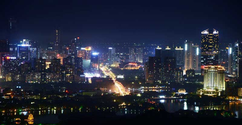 Night scene in Huizhou