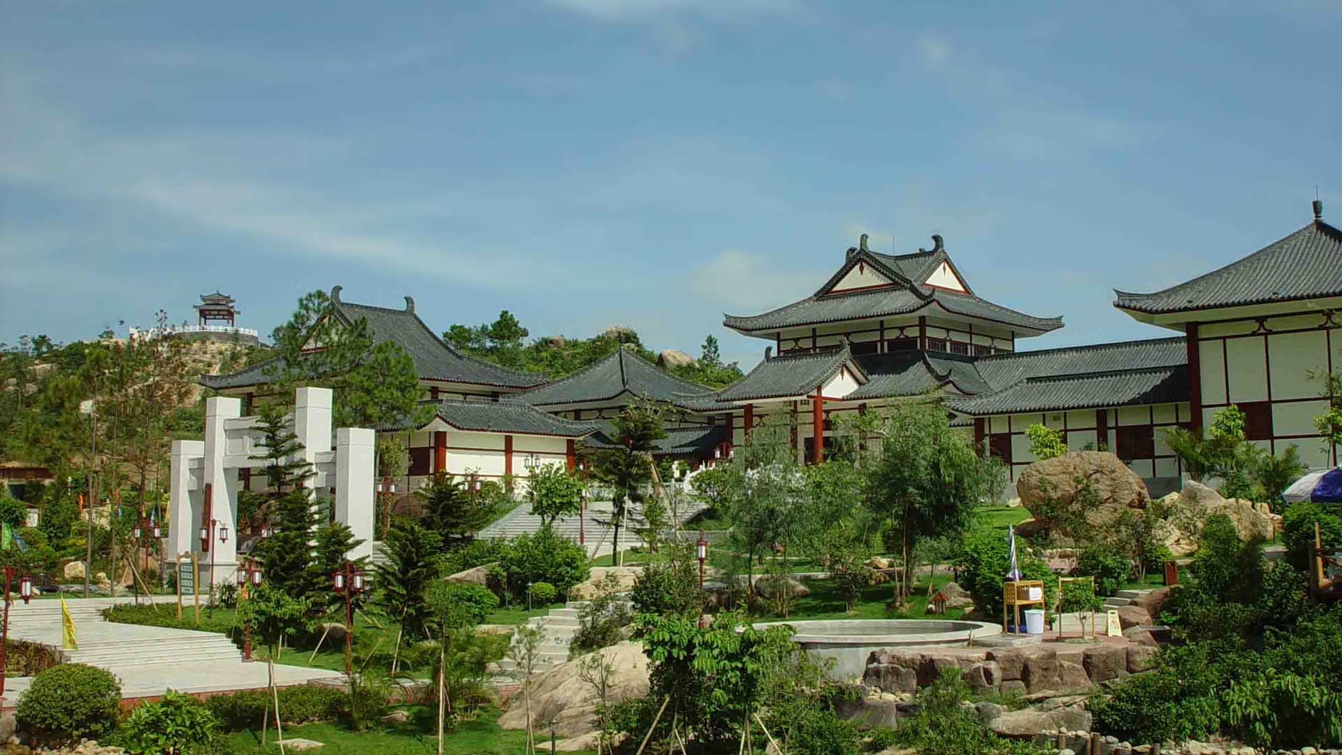 Gudou Hotspring Resort in Jiangmen
