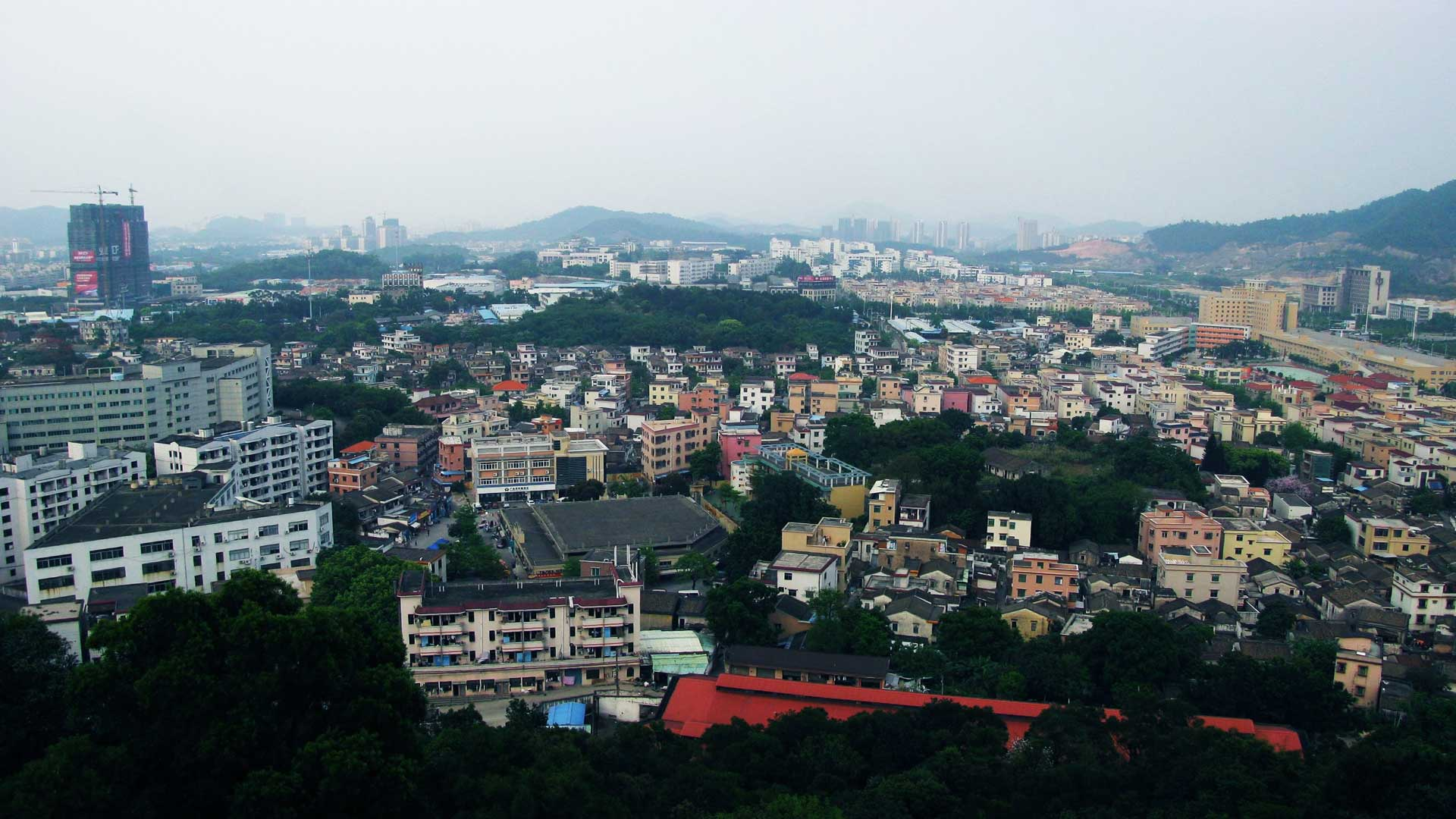 View of Zhongshan